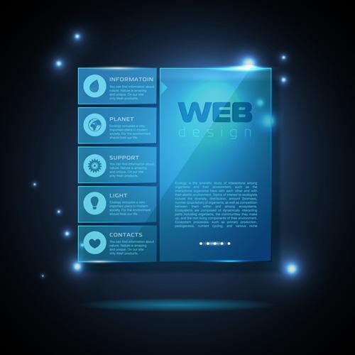 Blue web infographics template design vector 02 free download blue web infographics template design vector 02 maxwellsz