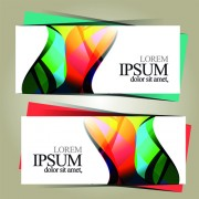 Link toBright abstract color vector banners 04