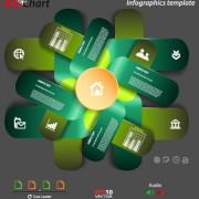 Link toBusiness infographic creative design 1494
