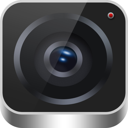 Camera shutter psd icon material