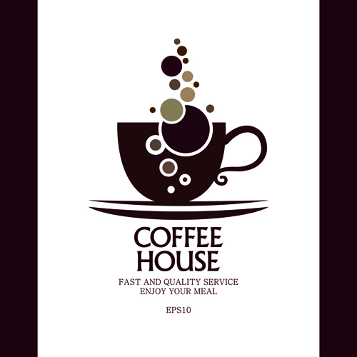 coffee house menu cover creative design graphics 02 free download