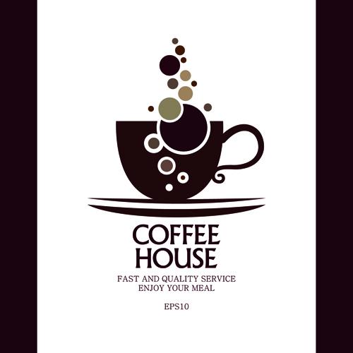 Coffee House Menu Cover Creative Design Graphics 02