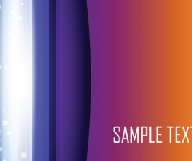 Colored gradual change with abstract background vector 03