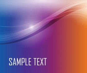 Colored gradual change with abstract background vector 05
