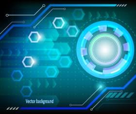 Concept technology elements background 01