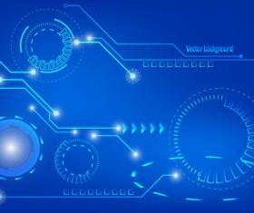 Concept technology elements background 02