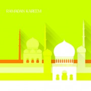Link toCreative islamic mosque vector background material 01