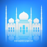 Link toCreative islamic mosque vector background material 05