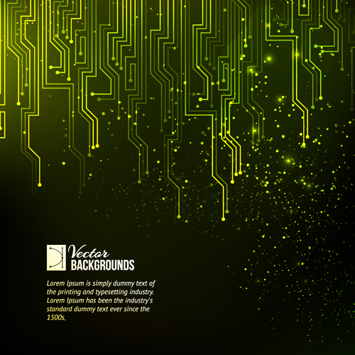Creative circuit board concept background vector 06 free download