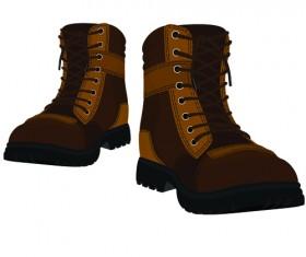 Creative low shoe vector graphics 02