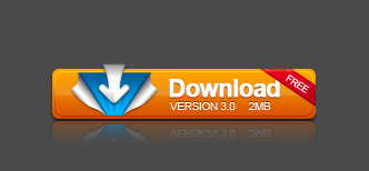 Creative yellow download psd button