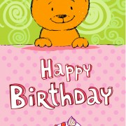 Link toCute cat birthday cards creative vector material 01