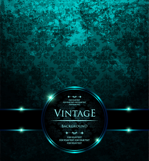 Dark Green Luxury Background Vector Free Download