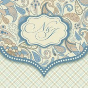 Link toDecorative pattern floral art background vector 01