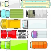 Link toDifferent truck vector material