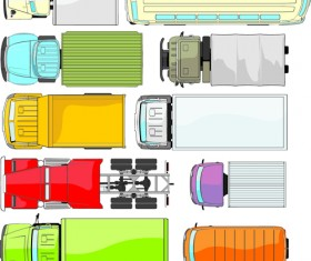 Different truck vector material