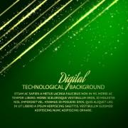 Link toDigital technology creative background vector set 03