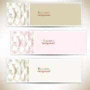 Link toElegant sofa background banner vector 02