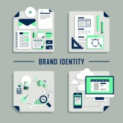 Link toFlat infographics icons creative vector 02