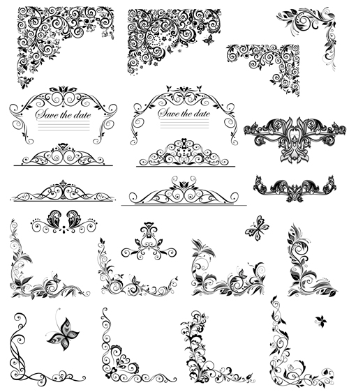 ... Vector Floral, Vector Frames & Borders, Vector Ornament free download