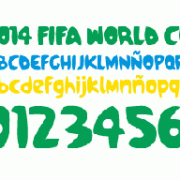 Funny brazil 2014 fifa world cup font