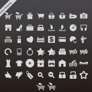 Link toGray online shopping series vector icons