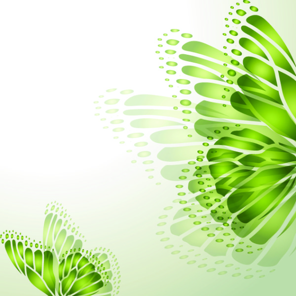 Green season style vector background 01 - Vector Background free ...
