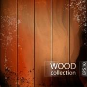 Link toGrunge wooden board vector background set 02