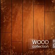 Link toGrunge wooden board vector background set 05