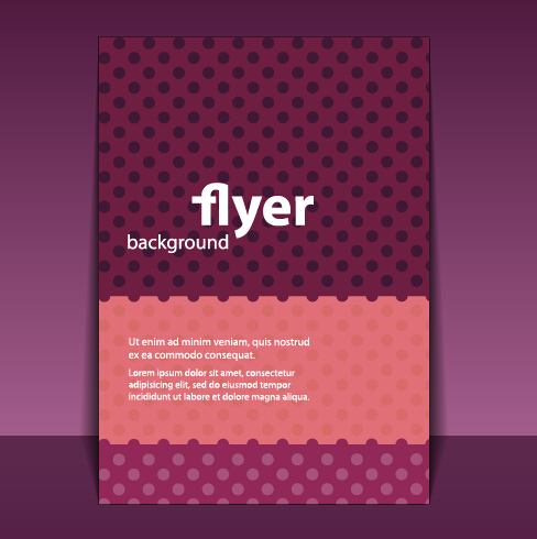 flyer and brochure background vector 03 - Vector Background free ...