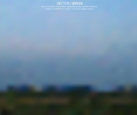 Natural scenery blurred background vector 02