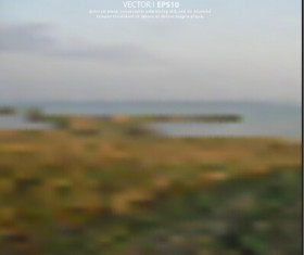 Natural scenery blurred background vector 03