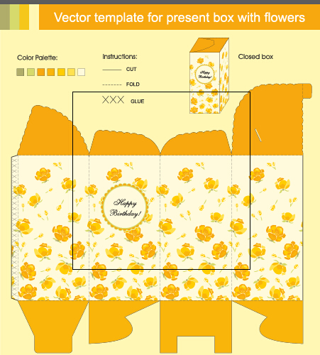 Package Present Box Models Vector Graphics 02 Vector