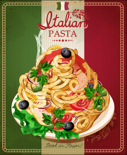 italian restaurant menu cover Gallery