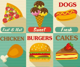 Retro with vintage restaurant menu cover vector graphics 02