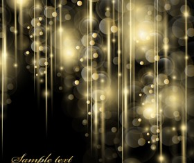 Shiny bubbles with dark background vector