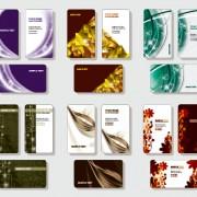 Link toStylish business cards creative design set vector 02