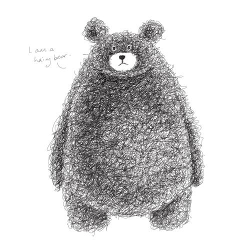 Super cute teddy bear design vector graphics 05