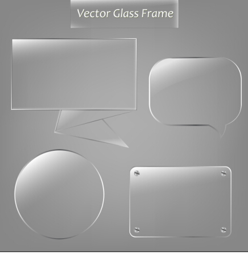 Vector glass frame design vector 03 - Vector Frames ...