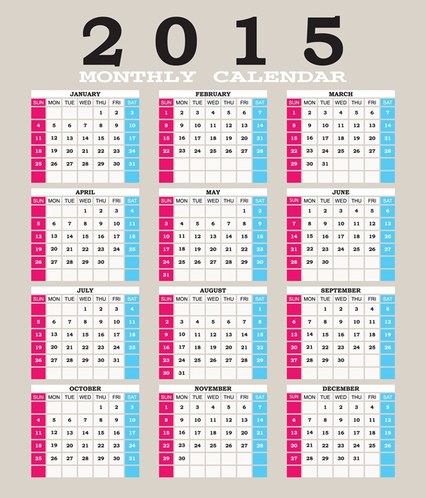 Calendar Typography Year : Typography calendar images best new year