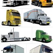 Link toBig trucks creative vector material