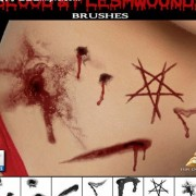 Link toBlood and flesh wounds photoshop brushes