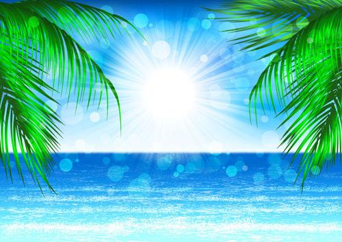 Blue sea and sun background vector graphics over millions vectors blue sea and sun background vector graphics toneelgroepblik Images