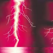 Link toBright lightning background vector design 02