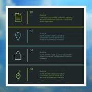 Link toBusiness infographic creative design 1652