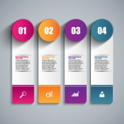 Business infographic creative design 1677