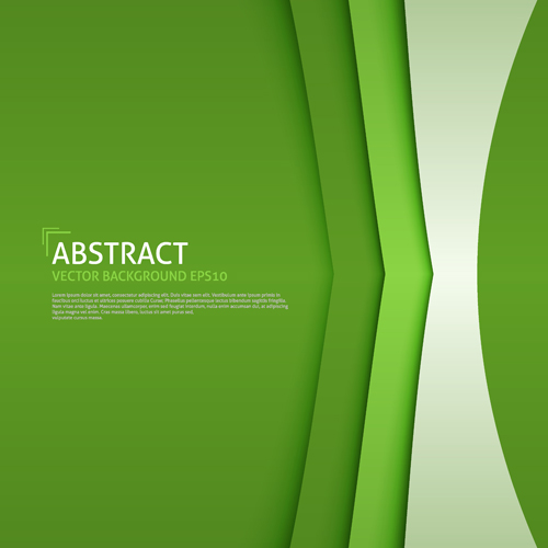 Business Background Green Style Design Vector 01 Free Download