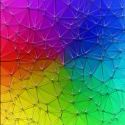 Link toColored polygonal elements vector background 04