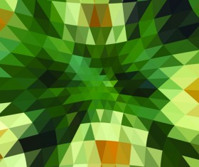 Colored triangle abstract background vector 03