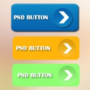 Colored unfold button psd